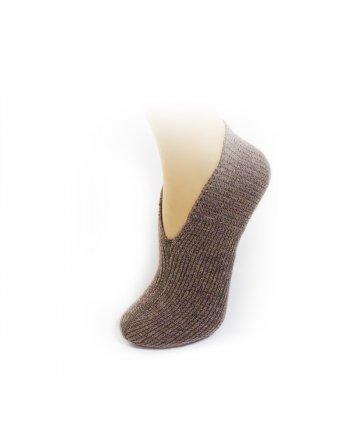 Chausson à botte tricoté