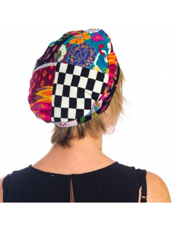 Bonnet fantaisie IKAT DRINB15
